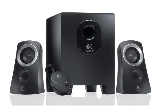 Logitech Z-313 - Lautsprechersystem - 25 W Stereo 2.800 g - Schwarz