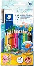 STAEDTLER Aquarellstift Noris Club aquarell, 12er Kartonetui