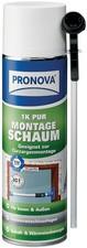PRONOVA 1K PUR Montageschaum, monomerarm, 400 ml