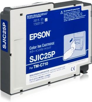 Epson SJIC25P - Tintenpatrone Original - 3-/4-Farb-Patrone