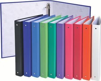 EXACOMPTA Ringbuch, 4-Ring-Mechanik, DIN A4, farbig sortiert