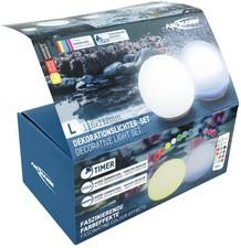 ANSMANN LED-Dekorationslicht / LED-Wasserleuchte, 2er Set