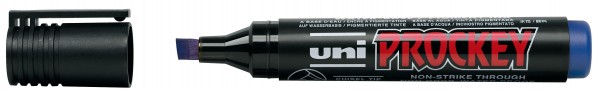 uni-ball Permanent-Marker PROCKEY (PM-126), blau