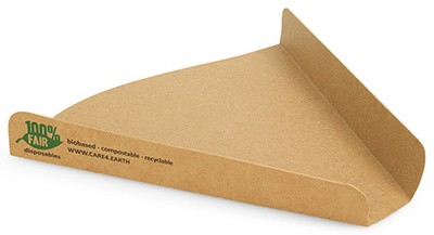 "PAPSTAR Pizza-Tray ""pure"", Maße: 180 x 170 x 25 mm"