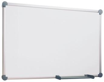 MAUL Weißwandtafel 2000, Emaille, (B)900 x (H)600 mm, grau