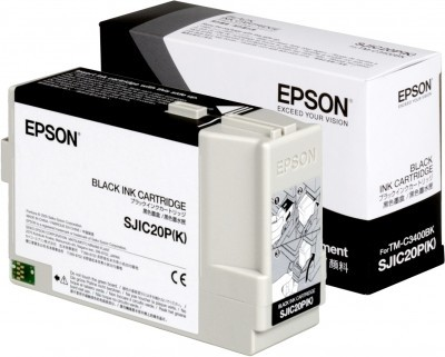 Epson SJIC20P(K) - Tintenpatrone Original - Schwarz