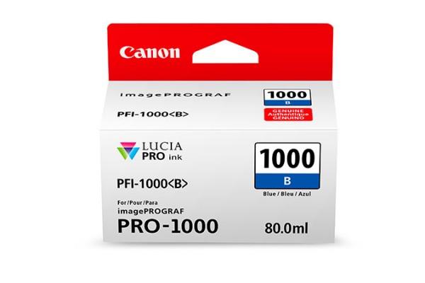 Canon PFI-1000 B 80ml Blau