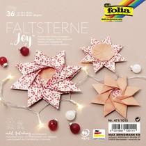 "folia Faltsterne-Set ""Joy"" (Meißner-Technik)"
