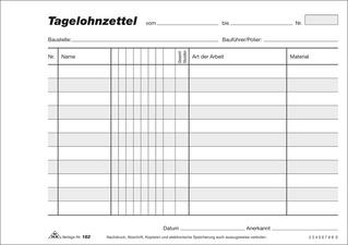 Durchschreibesatze Fur Handwerk Drucken Durchschreibesatz De 0