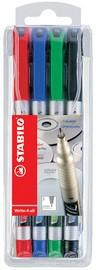 STABILO Permanent-Marker Write-4-all, M, 4er Kunststoff-Etui