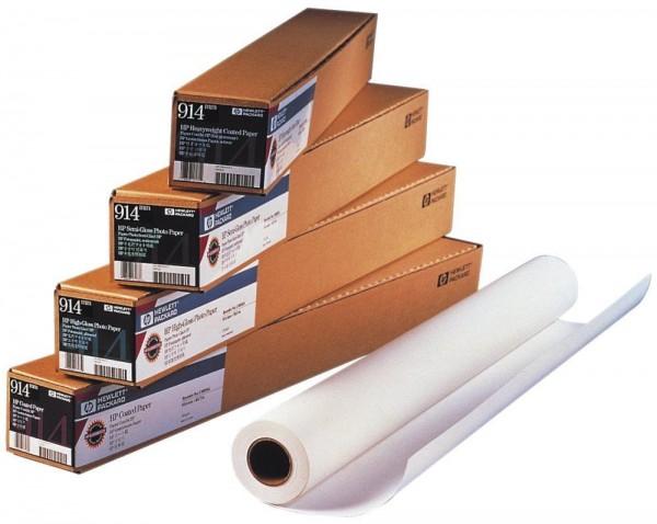 Original hp Rollenpapier für DesignJet, hochweiß, 90 g