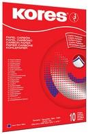 Kores Durchschreibepapier, DIN A4, blau, 10 Blatt
