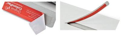 ColomPac CD/Jewelcase-Versandtasche, stabile Vollpappe, weiß