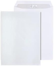 MAILmedia Versandtasche FSC, DIN C4, mit Fenster, weiß
