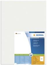 HERMA Universal-Etiketten PREMIUM, 297 x 420 mm, weiß