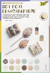 "folia Designpapierblock ""Hotfoil III"", DIN A4, 165 g/qm"