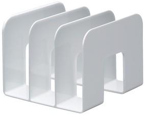 Stehsammler kunststoff  DURABLE Stehsammler TREND, Kunststoff, 3 Fächer, transparent ...
