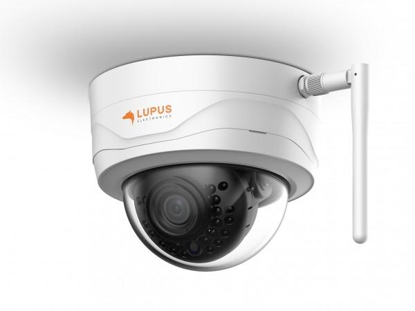 Lupus Electronics LE204 WLAN IP-Sicherheitskamera Innen & Außen Kuppel Schwarz - Weiß 2304 x 1296 Pixel