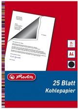 herlitz Kohlepapier, DIN A4, Inhalt: 25 Blatt