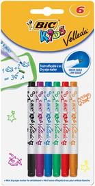 BIC KIDS Whiteboard-Marker Velleda Mini, 6er Blister