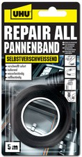 UHU Pannenband repair all, (B)19 mm x (L)5 m, schwarz