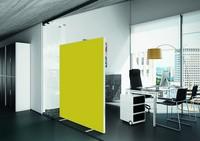 PAPERFLOW Trennwand easyScreen, Textiloberfläche, orange