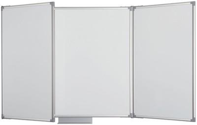 MAUL Weißwand-Klapptafel, Schreibfläche: 4,5 qm, grau