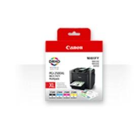 Canon PGI-2500XL C/M/Y/BK - Tintenpatrone Original - Schwarz - 128,8 ml