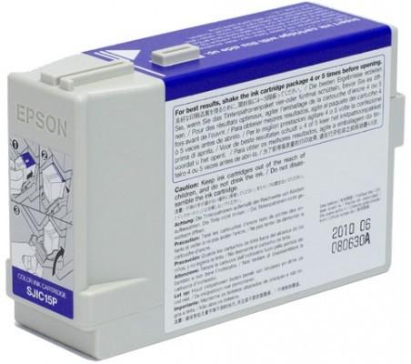 Epson SJIC15P - Tintenpatrone Original - 3-/4-Farb-Patrone, Cyan, Magenta, Yellow - 78,9 ml