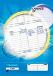 LANDRÉ T-Kontenblock DIN A4, 80 g/qm, holzfrei