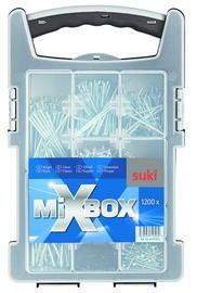 """suki. Mixbox """"Nägel"""", 1.200 teilig"""