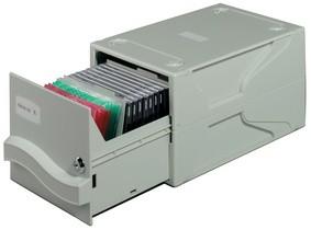 DURABLE Archivsystem MULTIMEDIA BOX I, für 27 CD's / DVD's