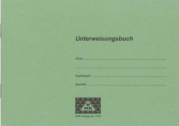 RNK Verlag Unterweisungsbuch für betriebl. Unfallverhütung
