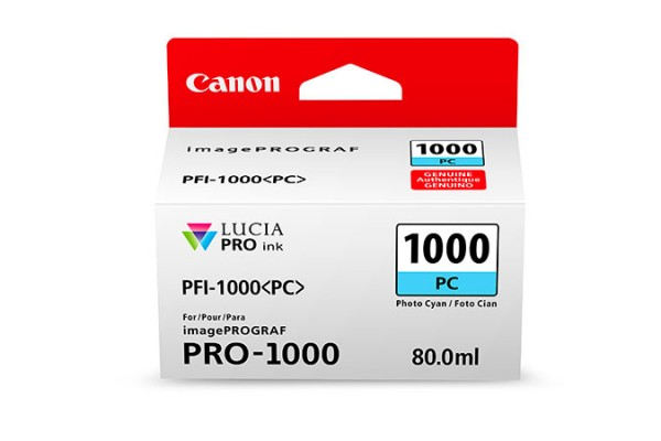 Canon PFI-1000 PC 80ml Foto zyan