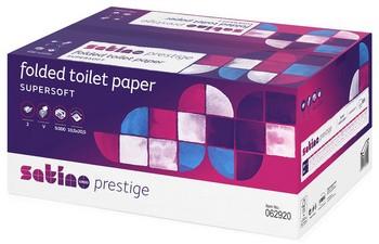 wepa Einzelblatt-Toilettenpapier Super Soft, 2-lagig, weiß