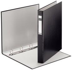LEITZ Ringbuch Standard, DIN A4 Überbreite, schwarz,4 D-Ring