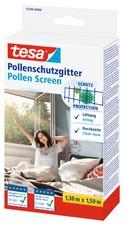 tesa Pollenschutzgitter für Fenster, 1,50 m x 1,30 m
