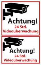 """AVERY Zweckform ZDesign Hinweis-Etikett """"Videoüberwacht"""""""