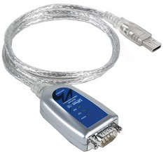 MOXA USB 2.0 - RS-232 Adapter Uport-1110, 1 Port