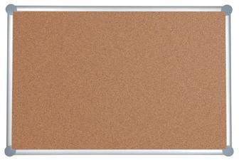 MAUL Korktafel 2000, (B)900 x (H)1.800 mm, grau