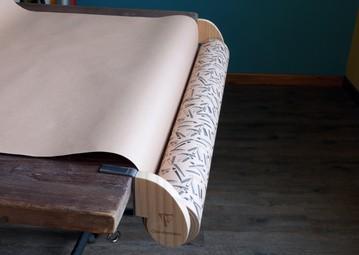 Clairefontaine Geschenkpapier-Abroller, verstellbar