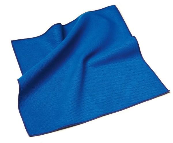 sigel Delta-Mikrofasertuch, 400 x 400 mm, blau