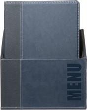 Securit Speisekarten-Mappe TRENDY, in Box, DIN A4, schwarz