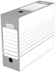 ELBA Archiv-Schachtel, Breite 200 mm, A4, weiß/grau