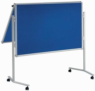 MAUL Moderationstafel professionell, klappbar, blau