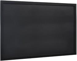 Securit Kreidetafel WOODY, mit Holzrahmen, schwarz