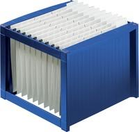 helit Hängeregistratur-Korb für 40 Hängemappen, blau