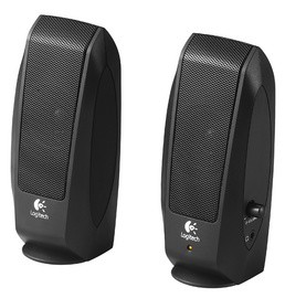 Logitech 2.0 Lautsprecher System OEM S120, schwarz