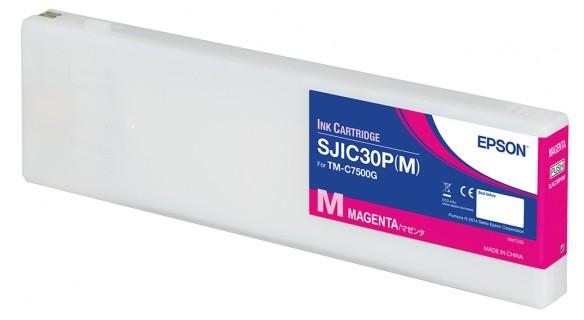 Epson SJIC30P(M) - Tintenpatrone Original - Magenta - 294,3 ml