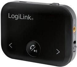 LogiLink Bluetooth 4.2 Audio Receiver / Transmitter, schwarz